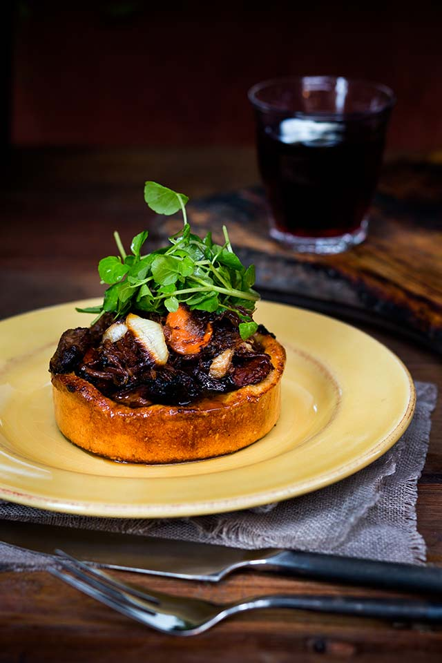 The best pies on earth – Lamb and Pinot.