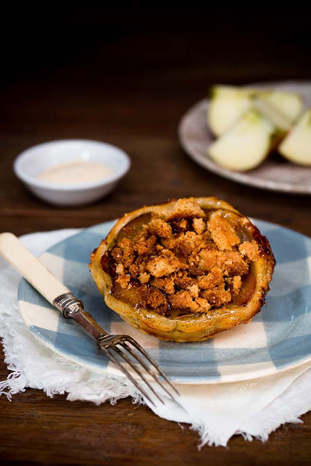 The best pies on earth – Apple Crumble..