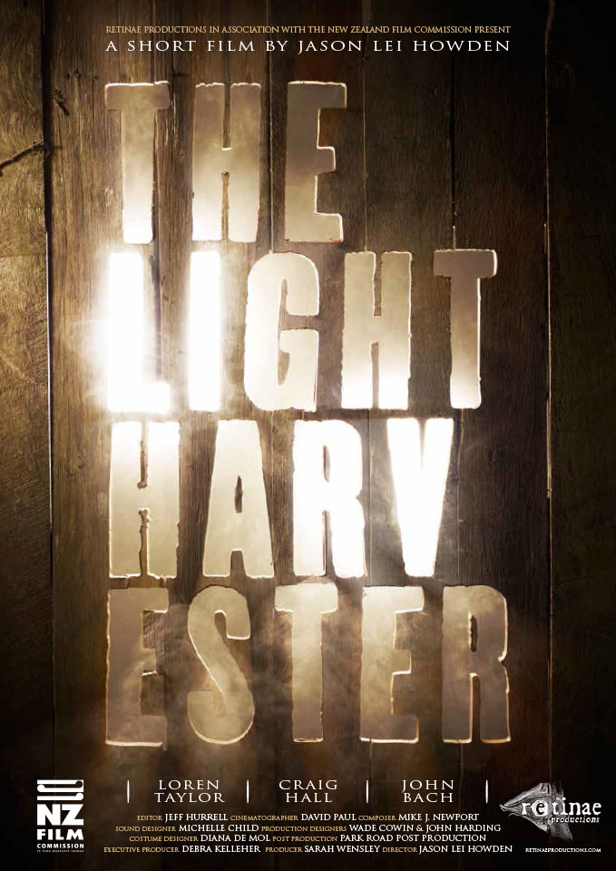 The Light Harvester movie poster.